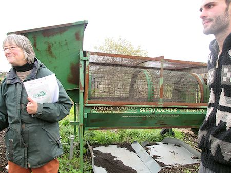 The Jimmy Riddle (compost sieving machine)